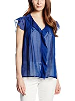 Trussardi Jeans Blusa (Azul Royal)