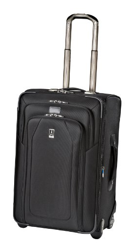 Travelpro Luggage Crew 9 24-Inch Expandable Rollaboard Suiter Bag, Black, One Size special offers
