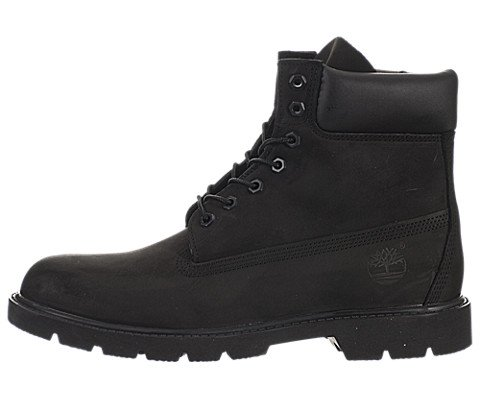 Timberland Men's Black Nubuck 6 inch Basic Boot 11.5 D(M) US (Timberland 6 D M compare prices)