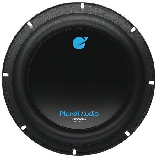 Planet Audio Ac8D 8-Inch Dual 4-Ohm Voice Coil Subwoofer - Set Of 1