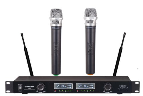 Gtd Audio U-502H Uhf Wireless Microphone System