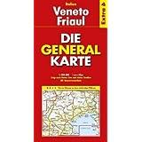 Die Generalkarte Italien Extra 4 Veneto - Friaul 1:200.000