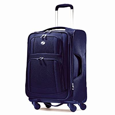 American Tourister Luggage Ilite Supreme 29 Inch Spinner Suitcase, Sapphire Blue, 29 Inch