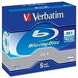 Verbatim BD-R SL 25GB 6x 5pk: 43715 (43715)