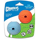 Chuckit! The Whistler 2-Pack, Small
