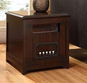 Muskoka MQHS511BWL Infrared Heater with Decorative Side Table