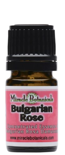 Rose Oil (Bulgarian) - Undiluted Essence of Rosa Damascena - 5ml