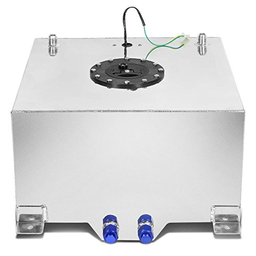 10-Gallon Aluminum Street/Drift/Strip/Racing Fuel Cell Gas Tank with Level Sender and Black Cap (Fuel Cell compare prices)