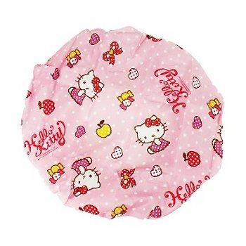 Hello Kitty Shower Cap: Pink Dot