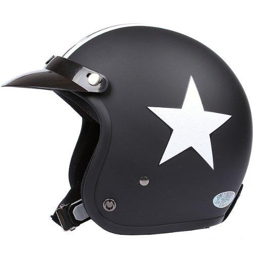 Motorcycle-HelmetTravellor-Helmet-with-Goggles-Retro-Vintage-Evo-Helmet-Sports-Street-Bike-Cruiser-Scooter-Snowmobile-Helmet-with-Pilot-Goggles