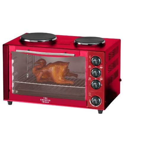 Oven Stove Top Image Red Oven Stove Top