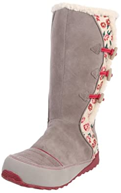 Sorel Suka 2 1818 - Winter Boot (Little Kid/Big Kid),Kettle,Persian Red/Bouillaire,Rouge Persan,2 M US Little Kid