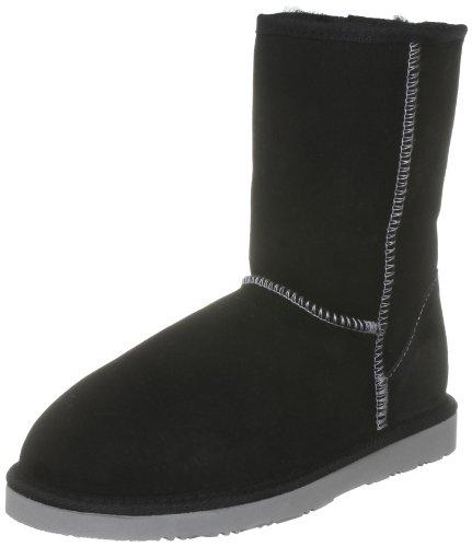 WLM New Zealand Women's Heritage Short Special Black Mid Calf Boots HSBLKSH 5 UK, 38 EU, 6 US