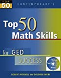 img - for Top 50 Math Skills for GED Success - Student Text with CD-ROM (Contemporary's Top 50) book / textbook / text book