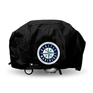 Seattle Mariners Rico Industries Deluxe Grill Cover by Rico