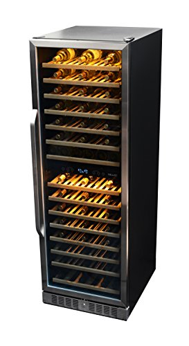 Find Bargain NewAir AWR-1600DB Premier Gold Series 160 Bottle Built-In WIne Cooler, StaInless Steel/...