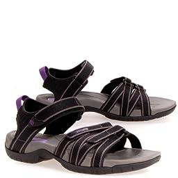 Teva Tirra Sandal - Women\'s Black / Grey 7