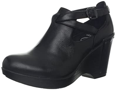 Dansko Women's Franka Wedge Pump,Black Antique,36 EU/5.5-6 M US