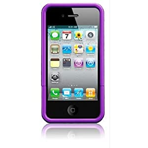 splash CRUISER Slim-Fit PolyCarbonate Slider Case for iPhone 4 4G (Purple)