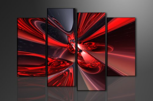 Picture - art on canvas abstract length 51