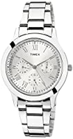 Timex Analogue Silver Dial Women Watch (TW000Q806)