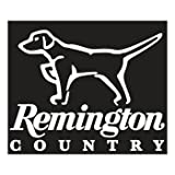 Remington Country White Die-Cut Vinyl Decal - Dog On Point (17413)