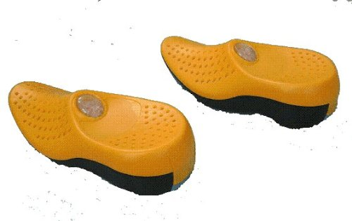Cheap A Pair of Reusable Personal Keep Dry Dehumidifying Mini Shoe; Yellow (B002QE3JS8)
