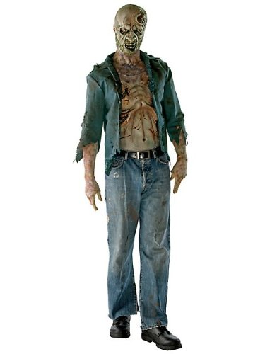 Deluxe Walking Dead Decomposed Zombie Costume for Men