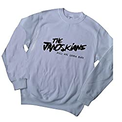 THE JANOSKIANS JUMPER SWEATER shirt DOGS GONNA BARK youtube dirty pig got cake by Juicy T's