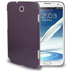 Crazy4Gadget Pure Color Plastic Case for Samsung Galaxy Note 8.0 / N5100(Purple)