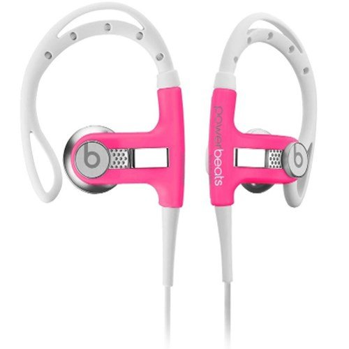 Beats by Dr. Dre Athlete Engineered Passive Sound Isolation Powerbeats (Neon Pink) dr dre dr dre compton 2 lp