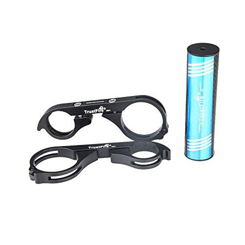 Supporto di Montaggio per Bicicletta/MTB/Bici In Fibra di Carbonio Può Essere Usato per l'installazione delle Luci della Bicicletta Torce Elettriche e Il Cronometro