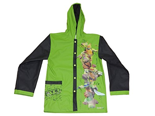 Teenage Mutant Ninja Turtle Boys Slicker Medium