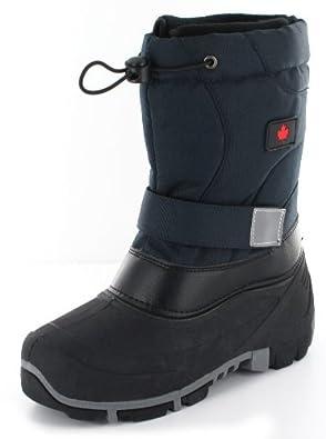 CANADIANS DAMEN WINTER STIEFEL BOOT WASSERDICHT 5 FARBEN, Schuhgröße:EUR 36;Farbe:Blau
