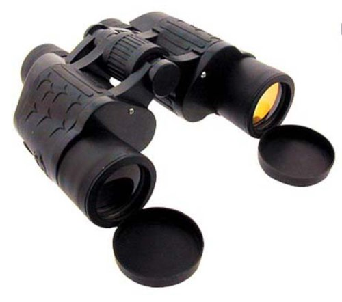 "7X35Mm Amber Lens Binoculars With 1/2"" Mini Compass - Include Lens Cover, Carrying Case"