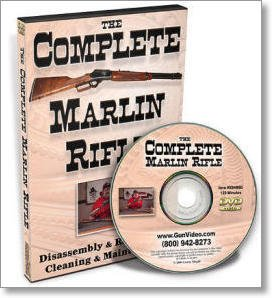 Complete Marlin Rifle: Disassembly & Reassembly, Cleaning & Maintenance (DVD)