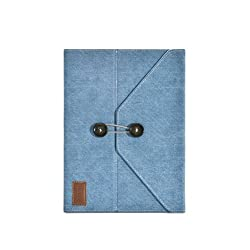 iLuv Dungarees Portfolio Jacket with Stand for Apple iPad 4, iPad 3rd Generation and iPad 2 (iCC837BLU)