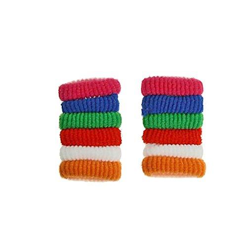 Accessoires Cheveux - Basic Elastique Cheveux Paquet de: 12 pièces Material: 100% Polyester Color: Couleurs variees