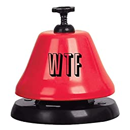 Slant Collections Metal Bar Bell: WTF