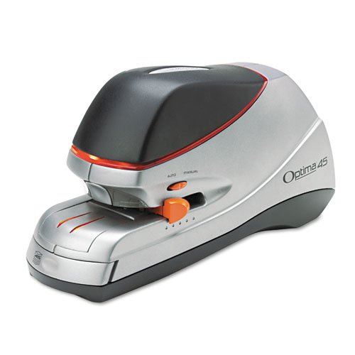 New-Swingline 48209 - Optima Electric Stapler, 45-Sheet Capacity, Silver - Swi48209