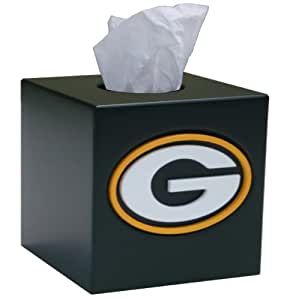 Nfl Tissue Box Cover Nfl Team Green Bay Packers Sports Fan Bath Accessories