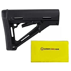 Magpul Industries MAG 311 CTR Commercial Com - Spec BLK Stealth Black Buttstock Stock... by MAGPUL
