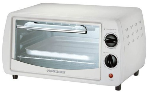 Black & Decker 800W TRO1000C 220-volt Toaster Oven with European Cord, 9-Liter (White Black And Decker Toaster compare prices)