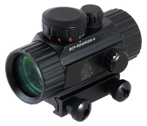 UTG-38-ITA-RedGreen-CQB-Dot-Sight-with-Integral-Mount