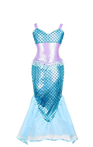 WonderfulDress Disney Little Mermaid Girls Costume Dress