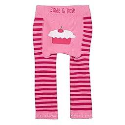 Blade And Rose Baby Cupcake Leggings (1-2yr, Pink)
