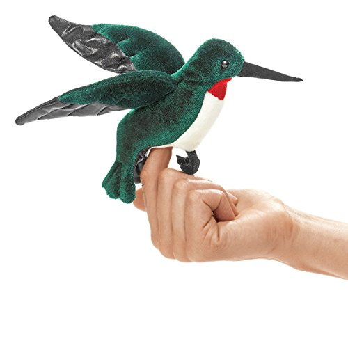 Folkmanis Mini Hummingbird Finger Puppet