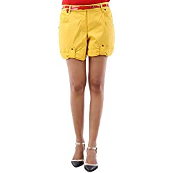 Fbbic Women's Casual Wear Bright Cotton Short