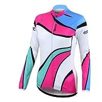 Santic Women's Wicking Cycling Long Seelve Jersey New Biking Cooltech Material sale off 2015