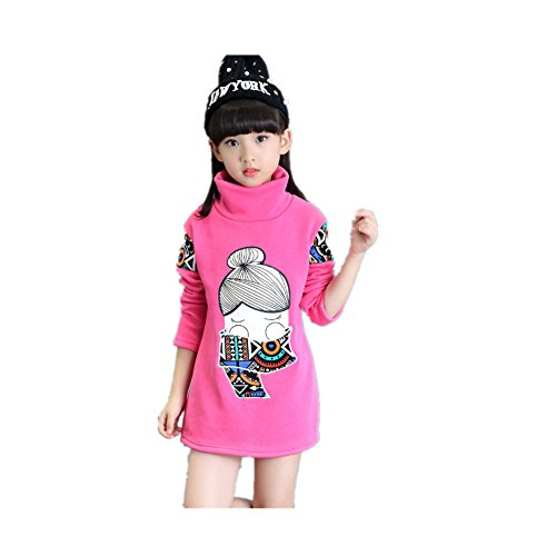 ftsucq-girls-printed-fleeced-long-sleeve-thermal-under-shirt-rosered-120
